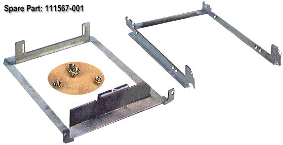 HPE Part 111567-001 Hard Drive Bracket (5.25-Inch Bay)