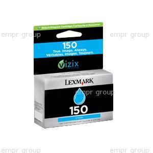 Part Lexm #150 Cyan Ink Cart - 14N1608AAN Lexm #150 Cyan Ink Cart