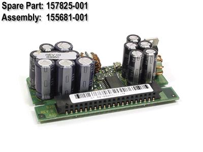 HPE Part 157825-001 Processor power module (PPM) - Voltage regulator for the processor - 12VDC nominal input, 19A maximum output