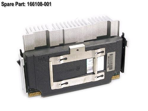HPE Part 166108-001 Intel Pentium III processor - 733MHz (Coppermine, 133MHz front side bus, 256KB Level-2 cache, SECC-2) - Includes heat sink