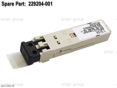 HPE Part 229204-001 2Gbps short wave Small Form Factor (SFP) transceiver module - 300m (984ft) limit - Has LC connectors