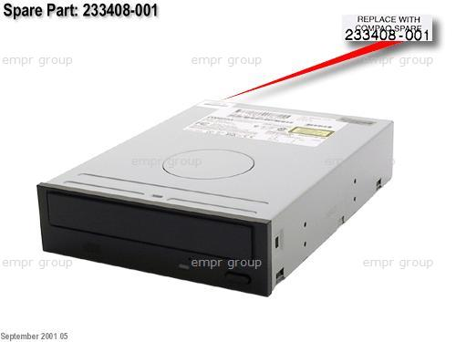 HPE Part 233408-001 IDE CD-ROM drive (Carbon Black) - 40X