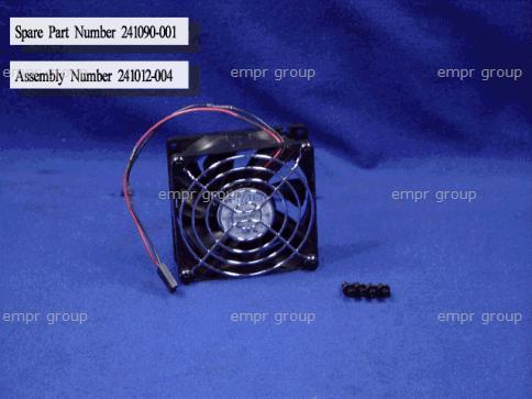HPE Part 241090-001 Cooling fan - 80mm