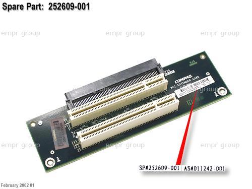 HPE Part 252609-001 PCI slot expansion board - Adds two additional PCI slots to the computer