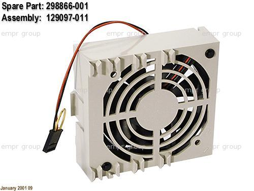 HPE Part 298866-001 92-mm Fan with Cable