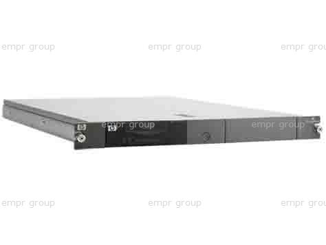 HPE Part 403721-003 Rackmount chassis - 1U form factor with interfaces for USB, SAS, and SCSI (LVD/SE) - Supports up to two half-height drives