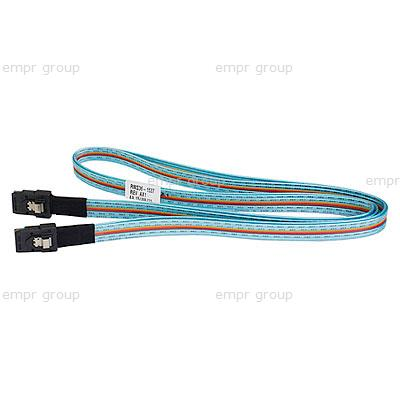 HPE Part 407339-B21 External Mini-SAS Cable, 4x 2M - For connecting the Smart Array P800 Controller with the HPE StorageWorks Modular Smart Array 60