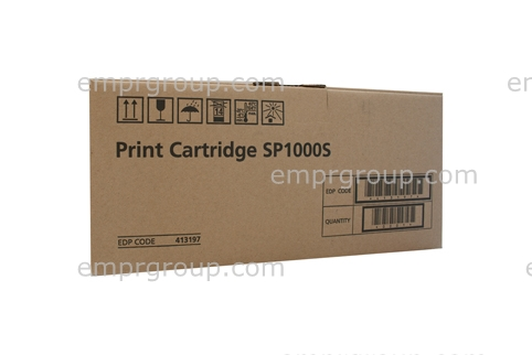 Part Ricoh SP1000 Black Toner - 413197 Ricoh SP1000 Black Toner