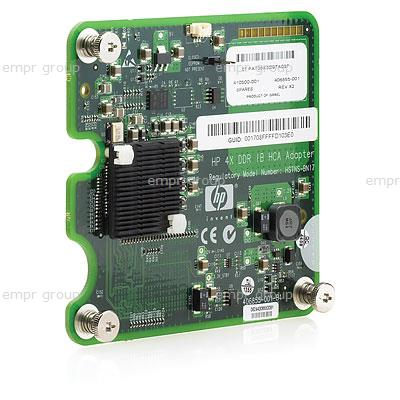 HPE Part 448262-B21 HPE 4X DDR InfiniBand (IB) dual-port mezzanine Host Channel adaptor (HCA) for HPE BladeSystem c-Class