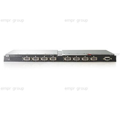 HPE Part 489183-B21 HPE 4X DDR InfiniBand Generation2 Switch Module for c-Class BladeSystem