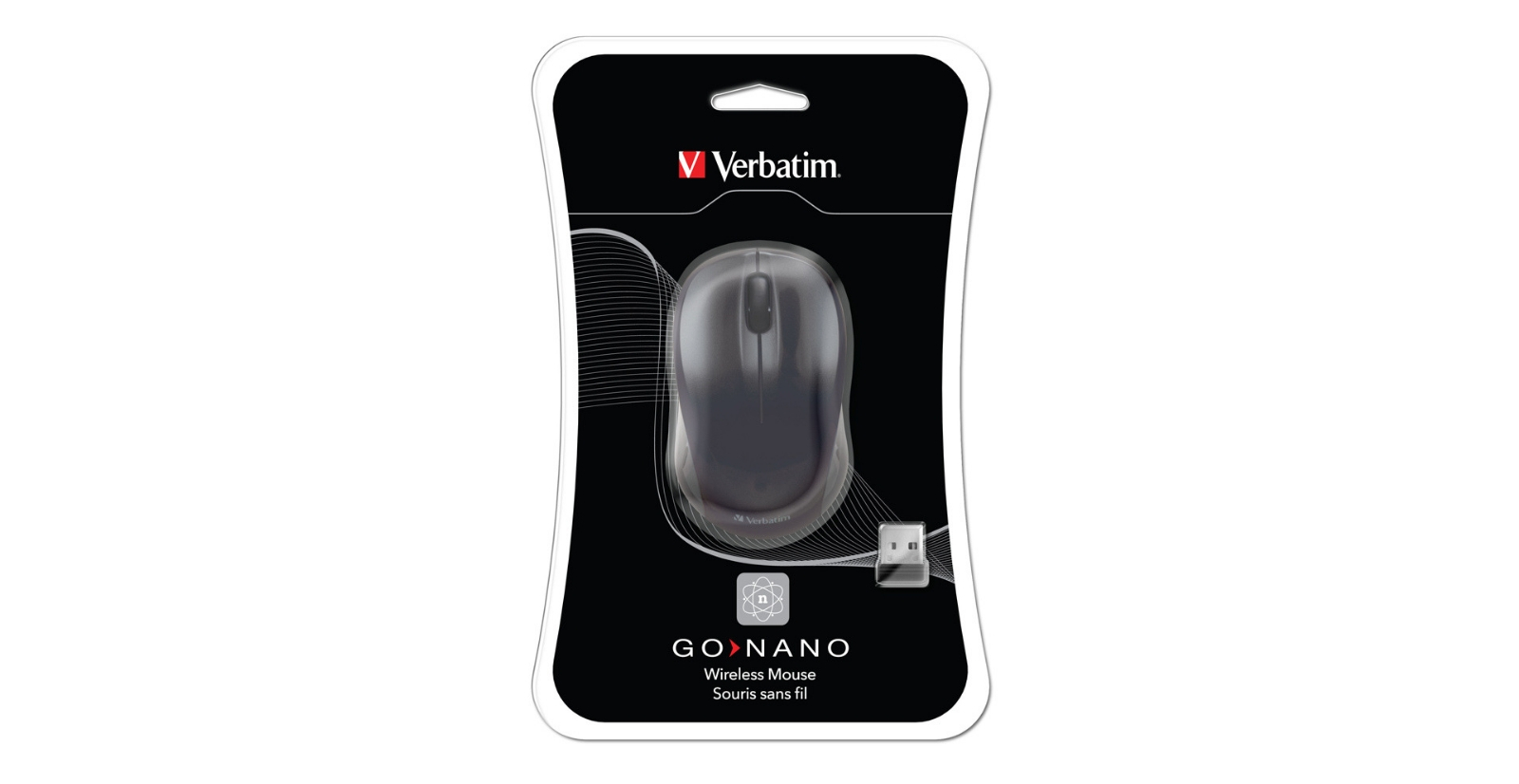 Verbatim Part 49042 Verbatim GO NANO Wireless Mouse - Black