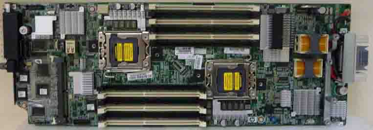 HPE Part 531221-001 System board (motherboard) assembly - For systems with Intel Xeon 5500-series processors or 5600 processors with required BIOS upgrade