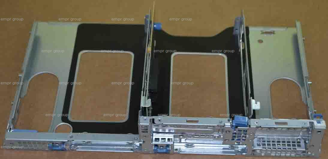 HPE Part 614778-001 PCI riser cage assembly - Includes the metal cage assembly with the non-hot-plug PCIe riser board