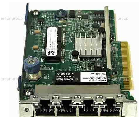 HPE Part 634025-001 Ethernet 1Gb 4-port 331FLR adapter, FlexibleLOM form-factor - Has four 10/100/1000BASE-T RJ45 ports and 276MB integrated memory - Requires one x4 PCI (Gen 2) FlexibleLOM slot (mechanically compatible with x8 and x16 PCI FlexibleLOM slots). <br/><b>Option equivalent: 629135-B21, 684208-B21</b>
