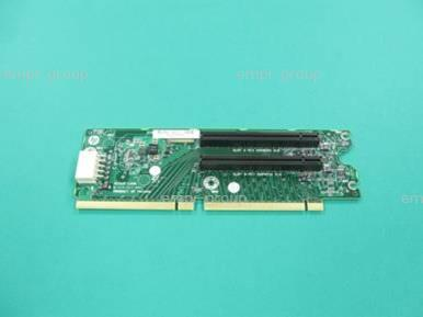 HPE Part 662525-001 2-slot PCIe riser board (optional) - Has two x16 slots - Mounts to the PCI riser cage