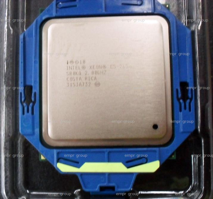 HPE Part 670526-001 Intel Xeon E5-2650 Eight-Core 64-bit processor - 2.00GHz (Sandy Bridge-EP, 20MB Level-3 cache, Intel QuickPath Interconnect (QPI) speed 8.0 GT/s, 95W Thermal Design Power (TDP), FCLGA 2011 socket)