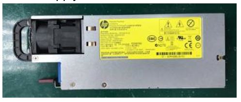 HPE Part 704604-001 1500 watt AC Common Slot (CS) 'Platinum Plus' hot-plug power supply - Supports Power Discovery Services (blue plug) - 94% efficiency, 200-240VAC at 50/60Hz - Mixing of power supplies in the same server is not supported, must be the same spare part number