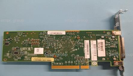 HPE Part 738191-001 H221 Gen3 host bus adapter - PCIe 3.0, 6Gb/s bandwidth per physical link, eight SAS ports