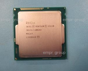 HPE Part 741661-001 Intel Pentium G3220 Dual-Core 64-bit processor - 3.00GHz (Haswell, 3MB Level-3 cache, Direct Media Interface (DMI) speed 5.0 GT/s, 53 watt thermal design power (TDP), FCLGA 1150-pin socket)