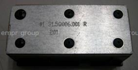 HPE Part 745827-001 Power supply blank (filler) - Inserts into one of the system's four rear panel power supply slots when slot is not used - Required installation to ensure proper cooling