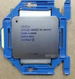 HPE Part 762456-001 Intel  Xeon E5-2643 v3 Six-Core 64-bit processor - 3.40GHz (Haswell-EP, 20MB Intel Smart Cache, Intel QuickPath Interconnect (QPI) speed 9.6 GT/s, 135W Thermal Design Power (TDP), FCLGA 2011-3 socket)