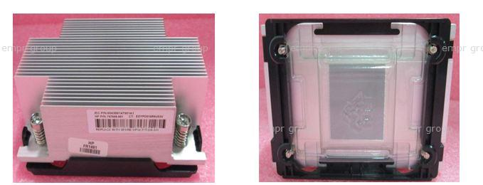 HPE Part 777290-001 Standard efficiency heatsink assembly -  For use with processors less than or equal to 105W