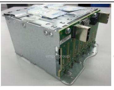 HPE Part 780971-001 8-bay hot-plug small form factor (SFF) hard drive cage assembly - Includes the metal cage structure and the SAS backplane board - Mounts in the front of the server - (three cage assemblies can be used)