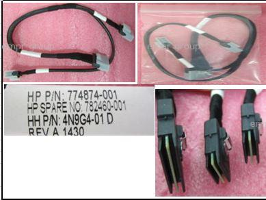 HPE Part 782460-001 HPE DL180 Gen9 8LFF Smart Array Cable Kit. <br/><b>Option equivalent: 725577-B21</b>