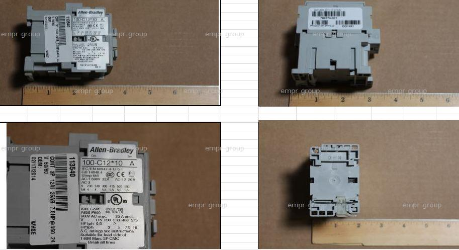 HPE Part 784674-001 SPS-Contactor 113540