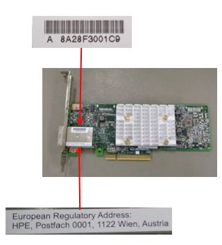 HPE Part 836267-001 HPE Smart Array E208e-p SR Gen10 (8 External Lanes/No Cache) 12G SAS PCIe Plug-in Controller. <br/><b>Option equivalent: 804398-B21</b>