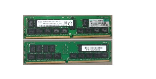HPE Part 846740-001 HPE SmartMemory 16GB, 2400MHz, PC4-2400T-R, DDR4, dual-rank x4, 1.20V, CAS-17-17-17, registered dual in-line memory module (RDIMM). <br/><b>Option equivalent: 836220-B21</b>