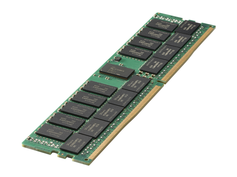 HPE Part 850881-001 32GB PC4-2666V-R, registered synchronous dynamic random access memory (SDRAM) 2Gx4, operated in a dual data rate (DDR4) mode, packaged in a dual in-line memory module organized as 4Gx72. <br/><b>Option equivalent: 815100-B21</b>