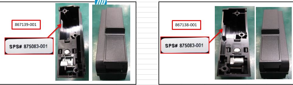 HPE Part 875083-001 SPS-EAR STD SFF Left/Right kit