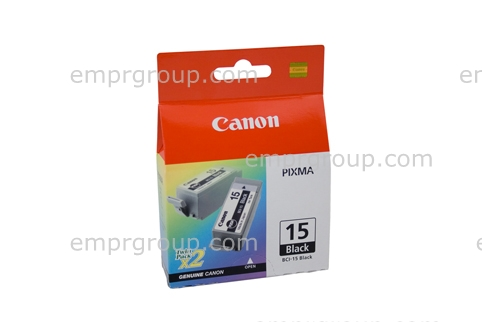 Part Canon BCI15BK Black Ink Tank Canon BCI15BK Black Ink Tank