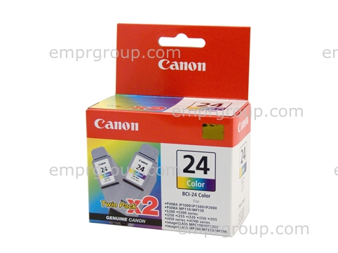 Part Canon BCI24 Colour Twin Pack - BCI24C-TWIN Canon BCI24 Colour Twin Pack