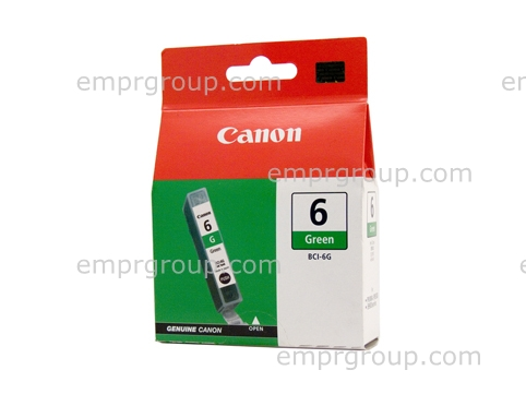 Part Canon BCI6G Green Ink Tank Canon BCI6G Green Ink Tank