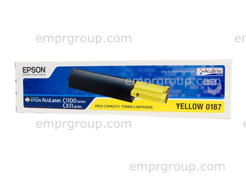EMPR Part Epson S050187 Yellow Toner Car - C13S050187 Epson S050187 Yellow Toner Car