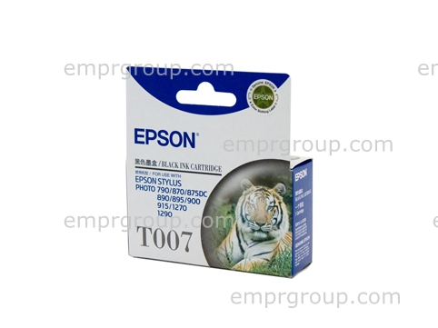Part Epson T007 Black Ink Cartridge - C13T007091 Epson T007 Black Ink Cartridge