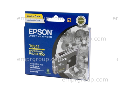 EMPR Part Epson T0341 Photo Black Ink - C13T034190 Epson T0341 Photo Black Ink