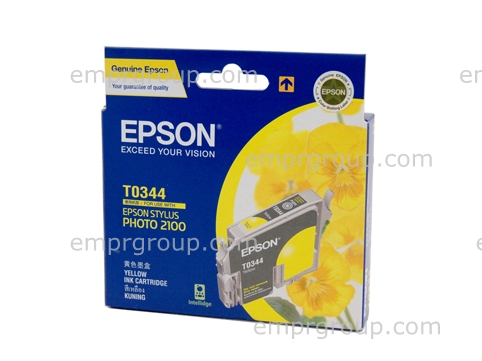 EMPR Part Epson T0344 Yellow Ink Cart - C13T034490 Epson T0344 Yellow Ink Cart