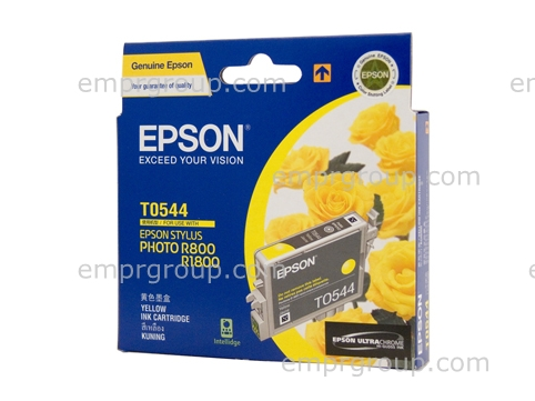EMPR Part Epson T0544 Yellow Ink - C13T054490 Epson T0544 Yellow Ink