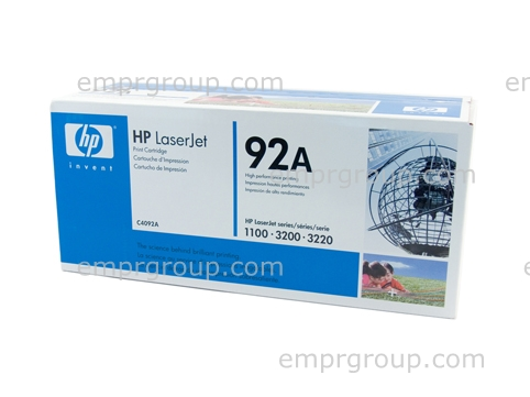 HP Part C4092A Ultra-Precise Black toner (EP) cartridge