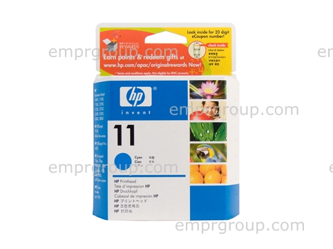 HP Part C4811A HP 11 Cyan Printhead