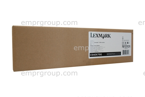 EMPR Part Lexmark C540X75G Waste Bottle Lexm C540X75G Waste Bottle