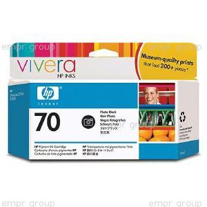 HP Part C9449A HP 70 Photo Black Ink Cartridge - Print cartridge volume 130ml