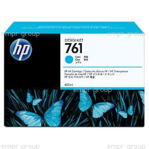 HP Part CM994A Ink Cartridge No 761 400ML Cyan Designjet