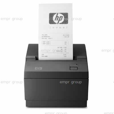 HP Part EY023AA HP USB Receipt Printer - Prints up to 38 lines (130mm) per second - Eight dots/mm print resolution with selectable 44 or 56 columns of print on 80mm wide thermal paper - 90mm paper roll capacity - Thermal paper NOT included