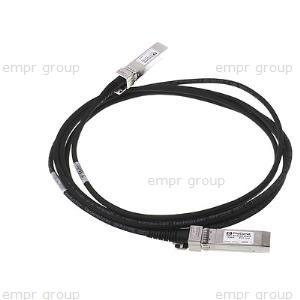 HPE Part J9301A HPE 10G X244 XFP to SFP+ 3m Direct Attach Copper Cable