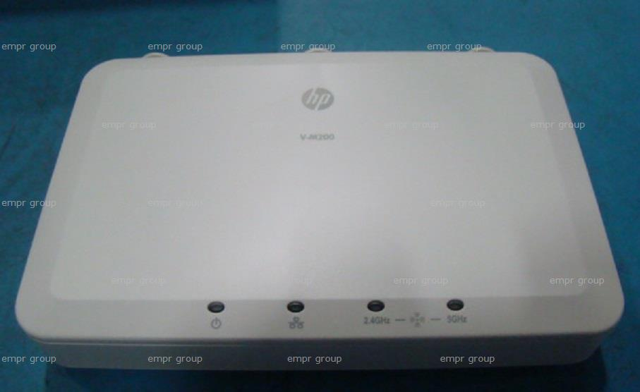 HPE Part J9467-61001 V-M200 single radio 802.11n Access Point (United States) - Unit contains a single 802.11a/b/g/n radio - Dual-band omnidirectional antennas not included