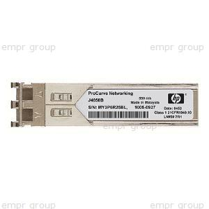 HPE Part JD120B X110 100M SFP LX Transceiver - Small Form-factor Pluggable (SFP) 100M transceiver with 1310nm laser that provides a full-duplex 100M solution up to 15km (9.32 miles) on multimode fiber - Has one LC 100BASE-LX port